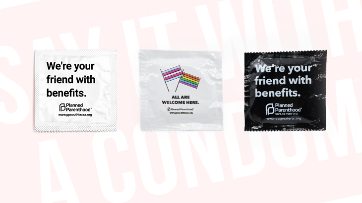 Three Custom Condoms Created by Planned Parenthood