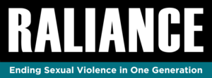 raliance ending sexual violence in one generation logo
