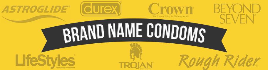 Brand Name Condoms