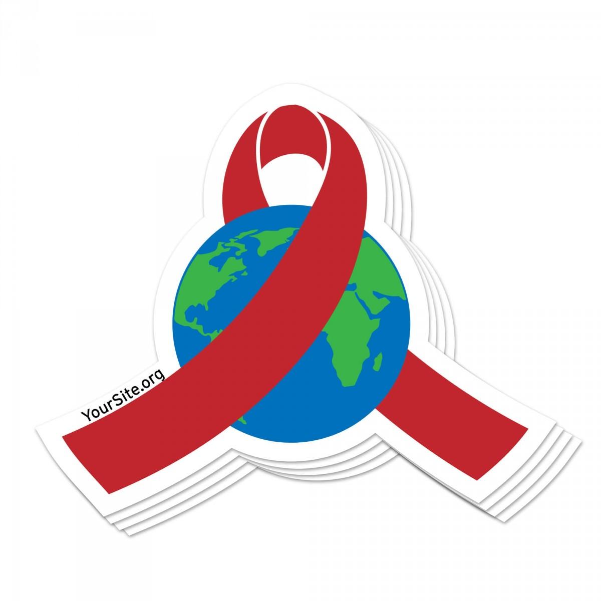 World AIDS Day Sticker