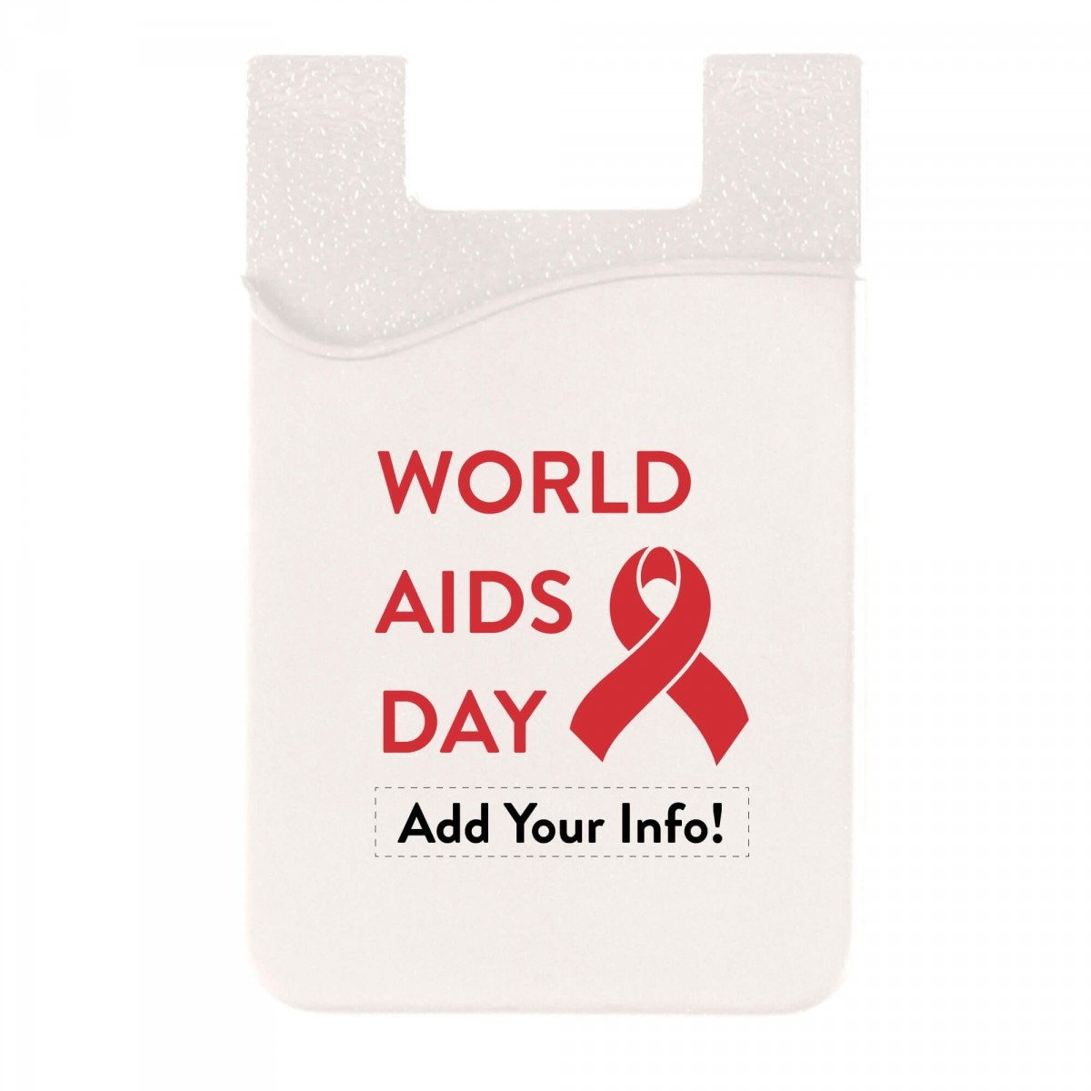 World AIDS Day Cell Phone Wallet