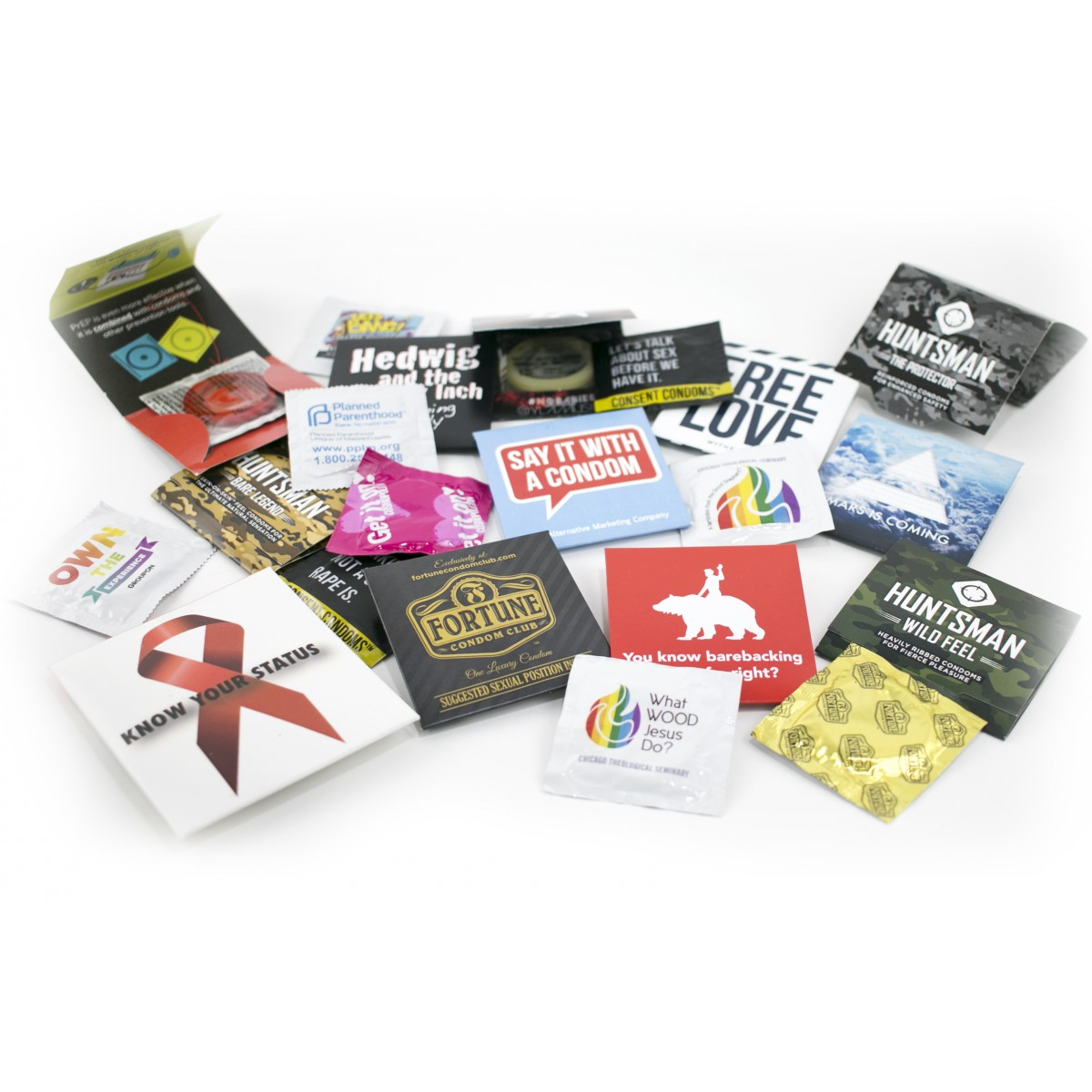 Sample Customized Condom Package