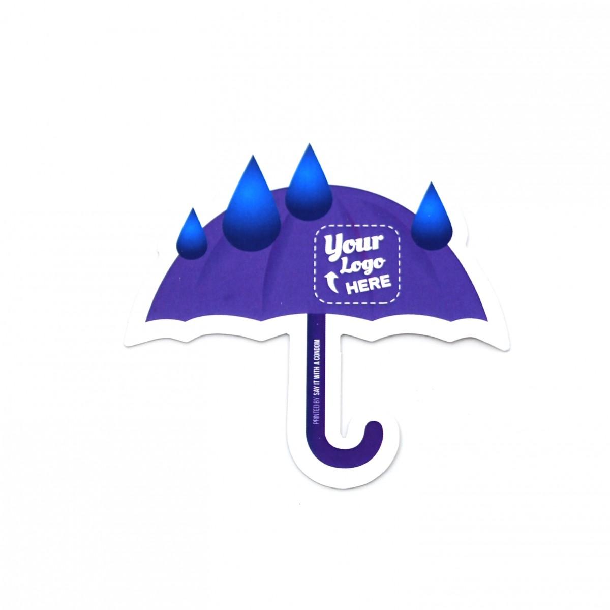 Umbrella Emoji Promo Card