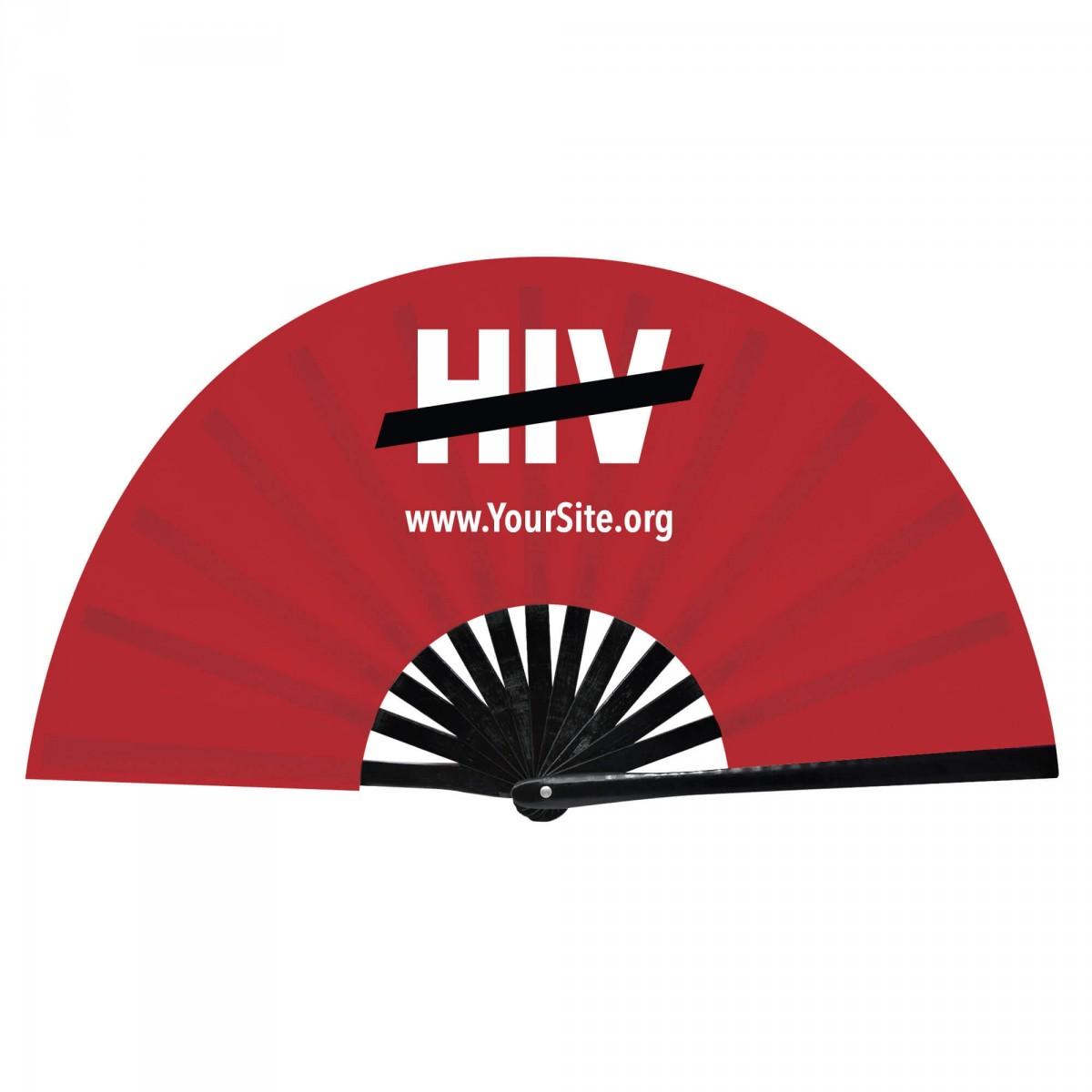 End HIV Snap Fan