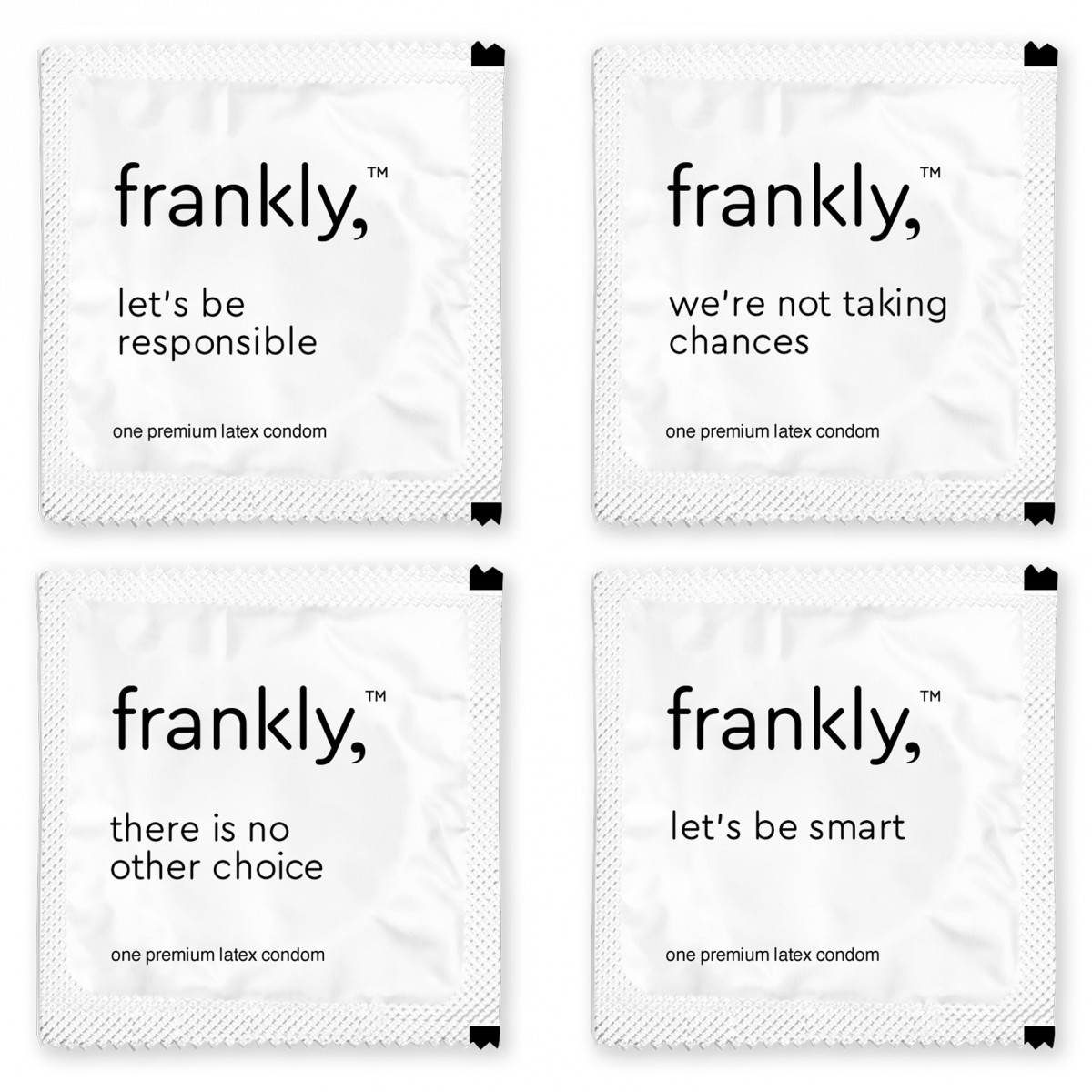 frankly, condoms