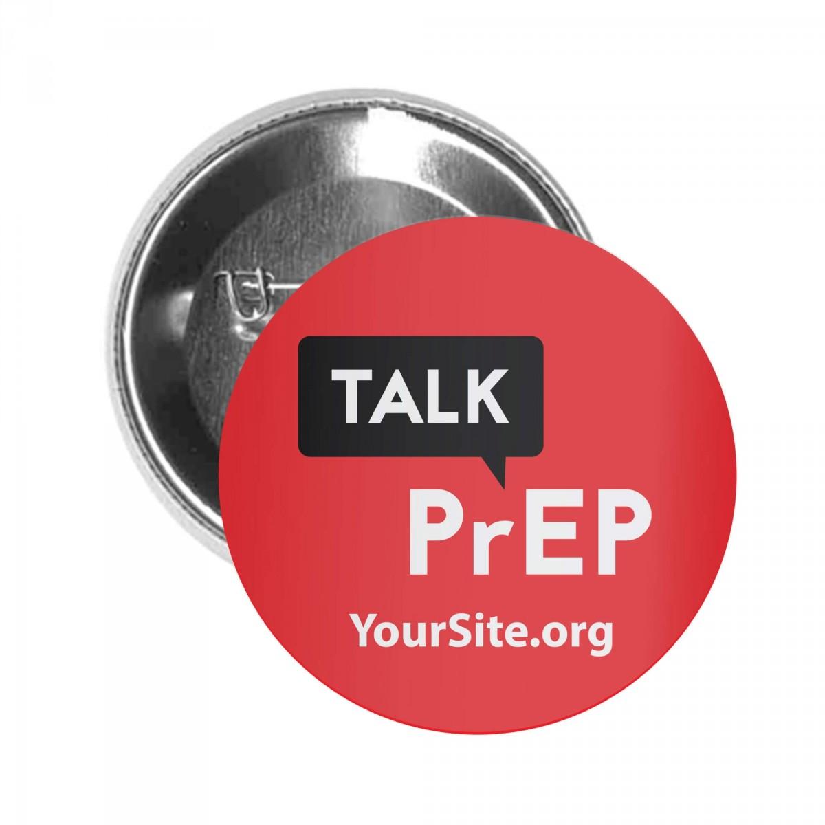 Talk PrEP Button Pin
