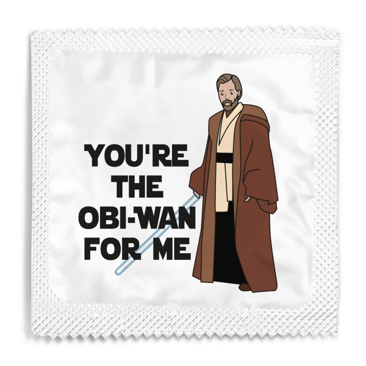 You're The Obi-Wan For Me Condom