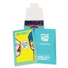 Custom Female Condom Wallets