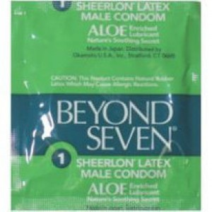 Beyond Seven With Aloe Condoms