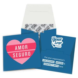 Amor Seguro Condom Wallet