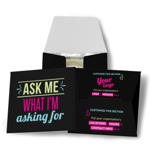 Ask Me What I'm Asking For Condom Wallet