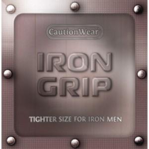 Caution Wear Iron Grip Condoms