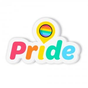 Customizable Pride Balloon Sticker