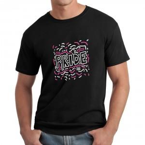 Gay Pride T-Shirt - Black