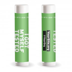 IGMT I Got Myself Tested Lip Balm SPF 15