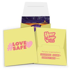 Love Safe Internal Condom Wallet