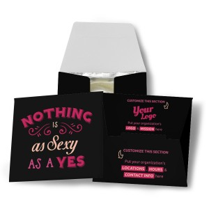 Nothing Is As Sexy As Yes Condom Wallet