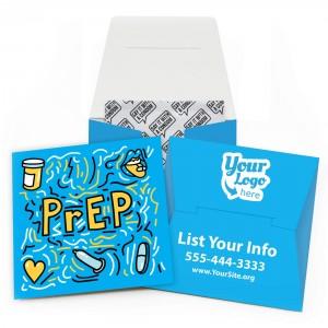 PrEP Safely Condom Wallet