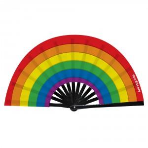 Pride Flag Snap Fan