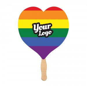 Pride Flag Mini Fan