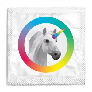 Pride Unicorn Condom