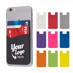 Promotional Cell Phone Wallet Dual Pocket