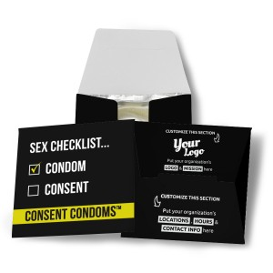 Sex Checklist Condom Wallet