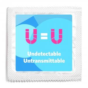 U=U Transgender Condom