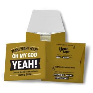 Yeah! Yeah! Yeah! Condom Wallet