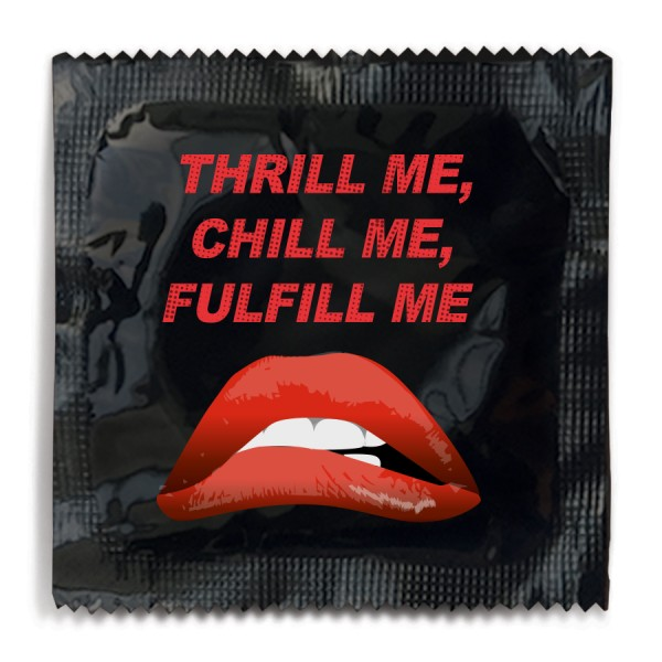 Thrill Me, Chill Me, Fulfill Me